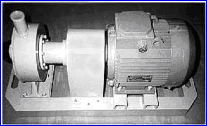Общий вид виброкавитационного измельчителя